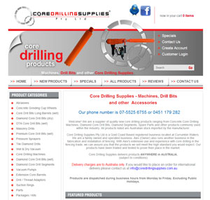 Core Drilling Supplies